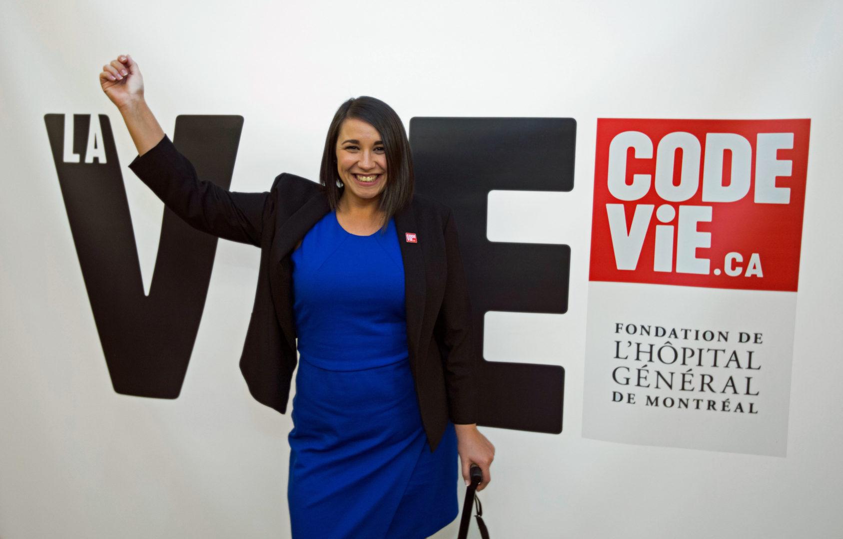 Annie-Claude, proud Code Life ambassador