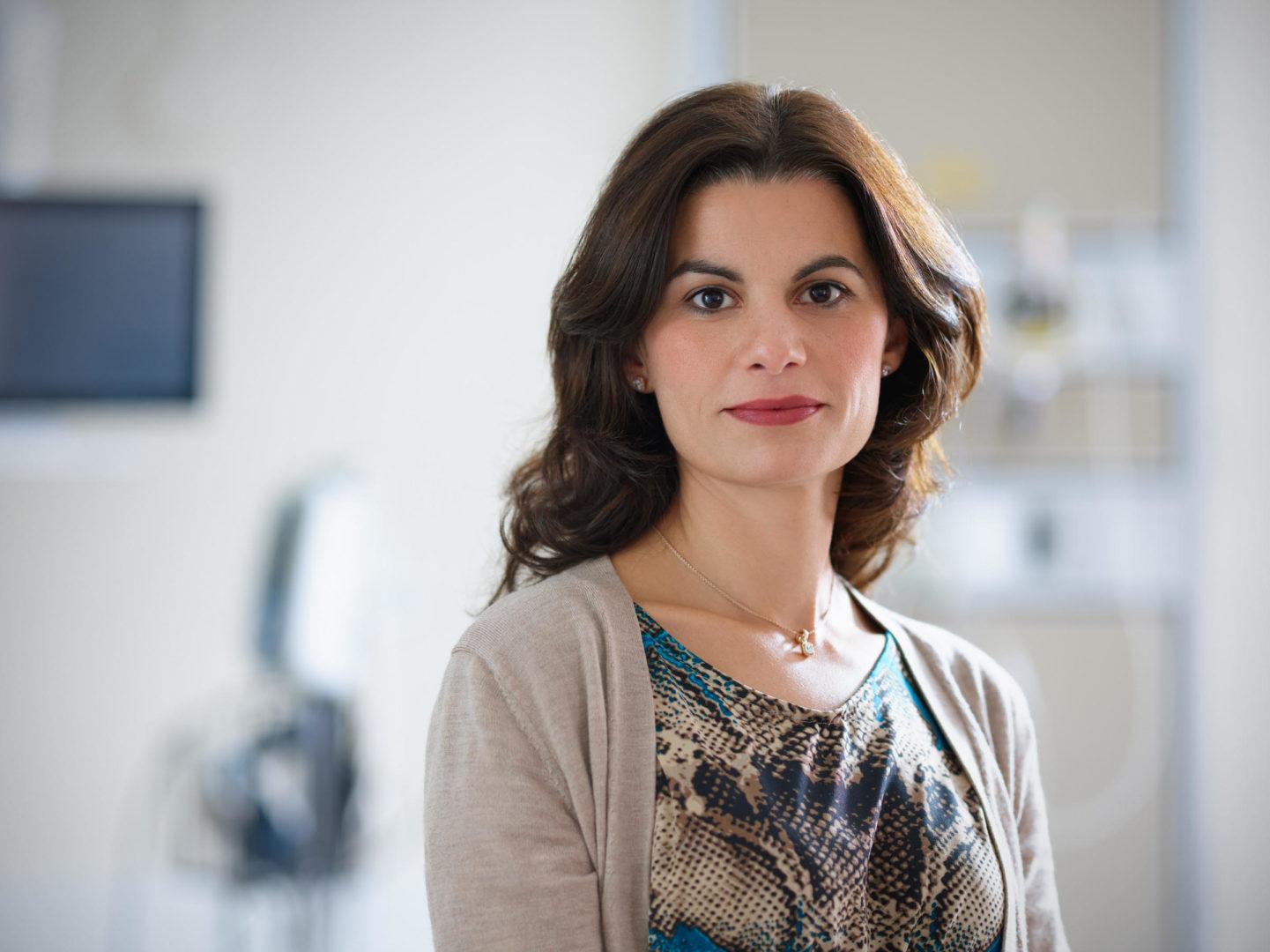 Georgia Niarchos, infirmière gestionnaire à l'Hôpital général de Montréal