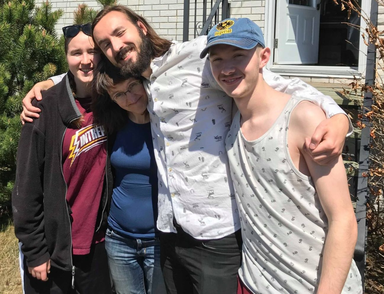 Samuël et sa famille