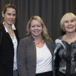 Ms. Annabel Soutar, Dr. Chantal Séguin and Mrs. Helgi Soutar