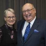Dr. Gail Myhr and Senator W. David Angus