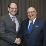 Dr. Howard Margolese and Senator W. David Angus
