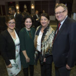 Mrs. Kim Anderson, Dr. Deborah Assayag, Mrs. Suzanne Bergeron Hewitt and Mr. Jim Hewitt