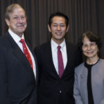 Mr. and Mrs. Ingram with Dr. Tomonori Hada