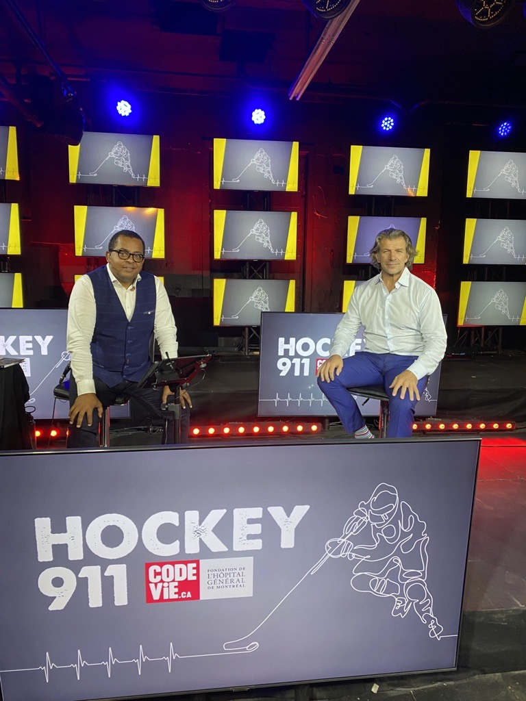 Hockey 911: Gregory Charles and Marc Bergevin in studio